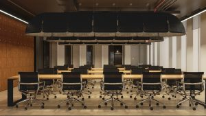 Интерьер смарт-офиса SOK Арена Парк