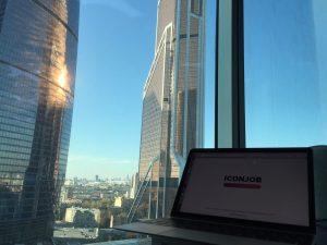 Вид из московского офиса Iconjob