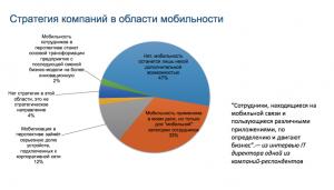 «Стратегия компаний в области мобильности»