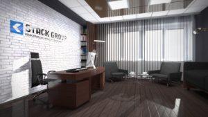 Офис компании Stack Group