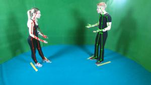 Студенты ВГИКа играют этюда, а искуственный интеллект пытается понять их эмоции