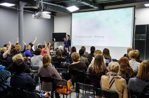 Выступление Евгении Поповой на конференции #ямогу